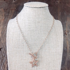 Moving Forward Star Necklace