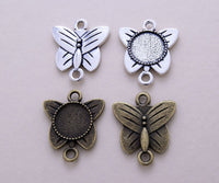 12mm Butterfly Necklace Kit - Lilly Ds DIY Craft Supplies