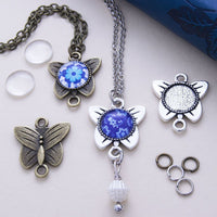 12mm Butterfly Necklace Kit