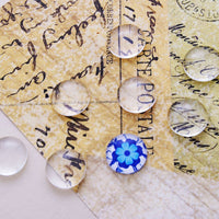 12mm round glass cabochons
