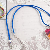18 inch Flat Suede Cord Necklace