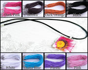 18 inch Flat Suede Cord Necklace - lilly-ds-diy-craft-supplies