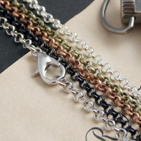30 inch Rolo Belcher Loop Chain for DIY Jewelry Making - lilly-ds-diy-craft-supplies