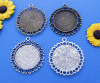 30mm Round Beaded Loop Tray Kit - Lilly Ds DIY Craft Supplies