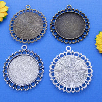 30mm Round Beaded Loop Tray Kit