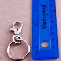 Economical Swivel Hook Keychains with Key Rings