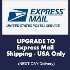 Overnnight Shipping  - Upgrade your USPS Express Overnight 1-2 days (please read description)