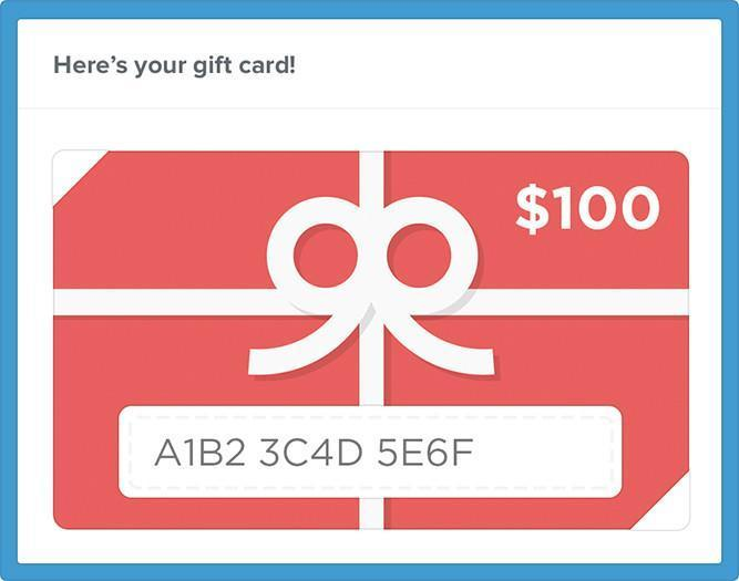 Lilly D's Gift of Creativity Gift Card - lilly-ds-diy-craft-supplies
