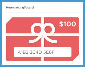 Lilly D's Gift of Creativity Gift Card