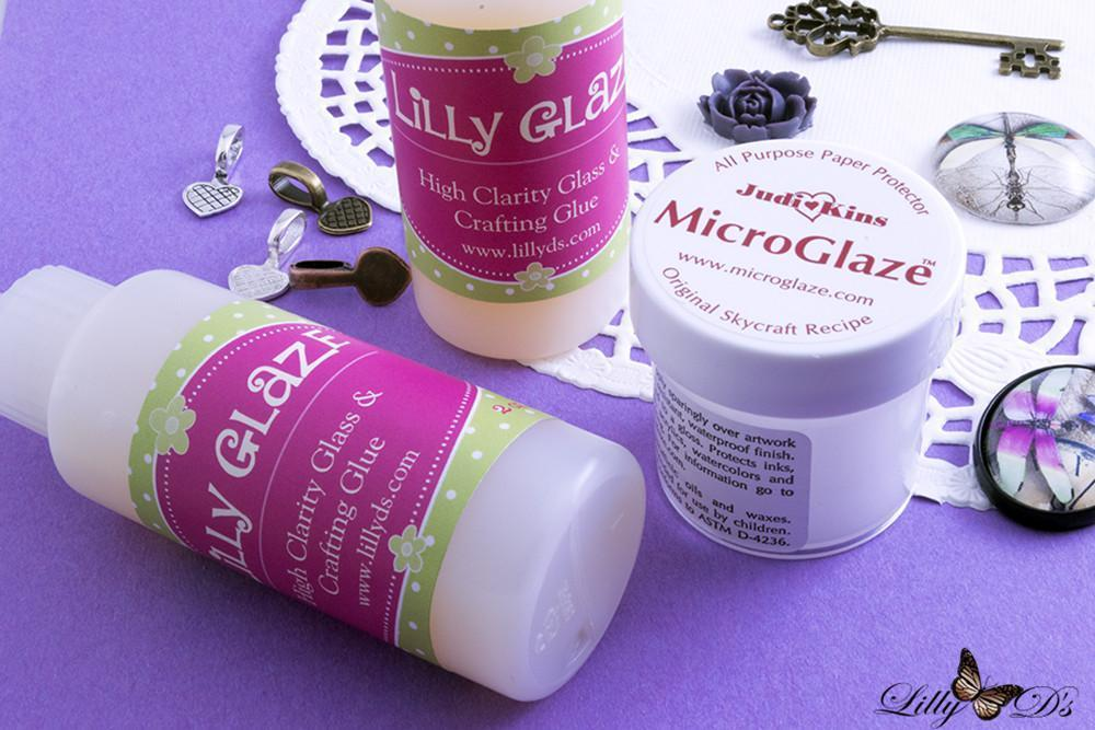 Lilly D's Glue Starter Kit for Inkjet Prints - lilly-ds-diy-craft-supplies