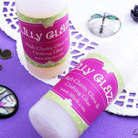 Lilly Glaze Glass Cabochon Glue 2 ounces - lilly-ds-diy-craft-supplies