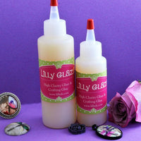 Lilly Glaze Glass Cabochon Glue 4 ounces
