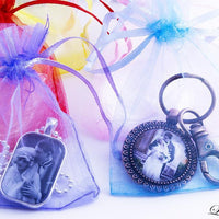 "Organza Gift Bags (2 1/2"" x 3 1/4"") Party Favor Bags"