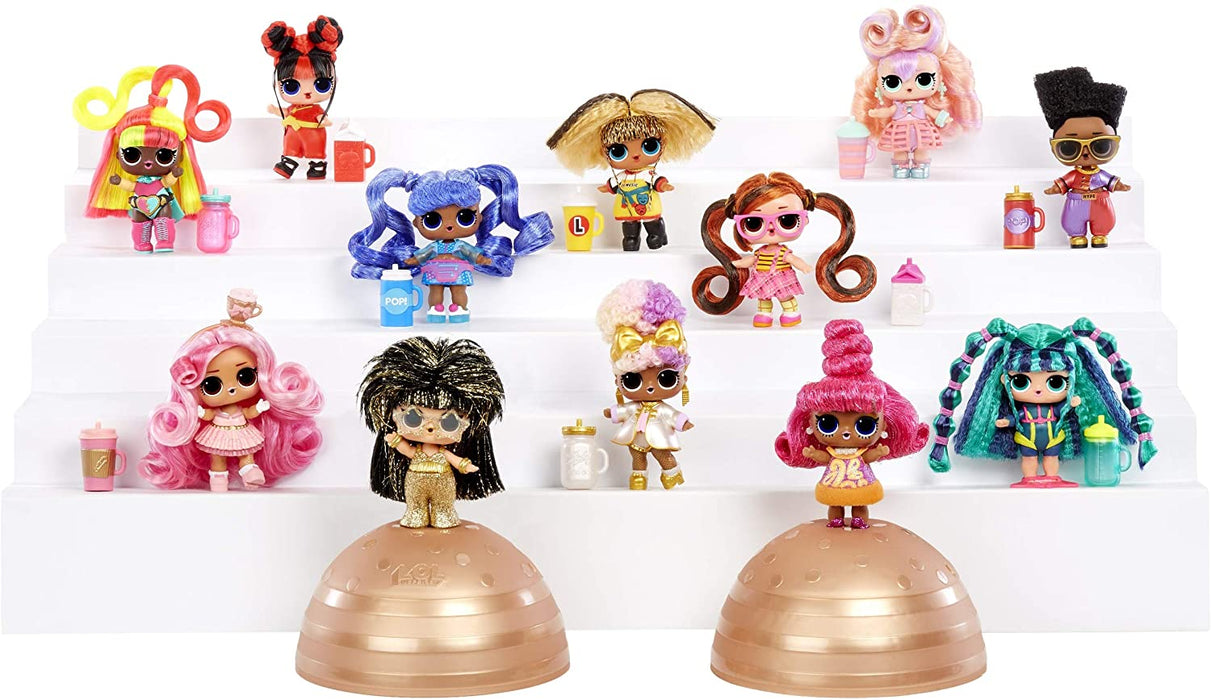 L.O.L. Surprise! 564751 L.O.L Hairvibes Dolls with 15 Surprises and Mix & Match Hair Pieces, Multi