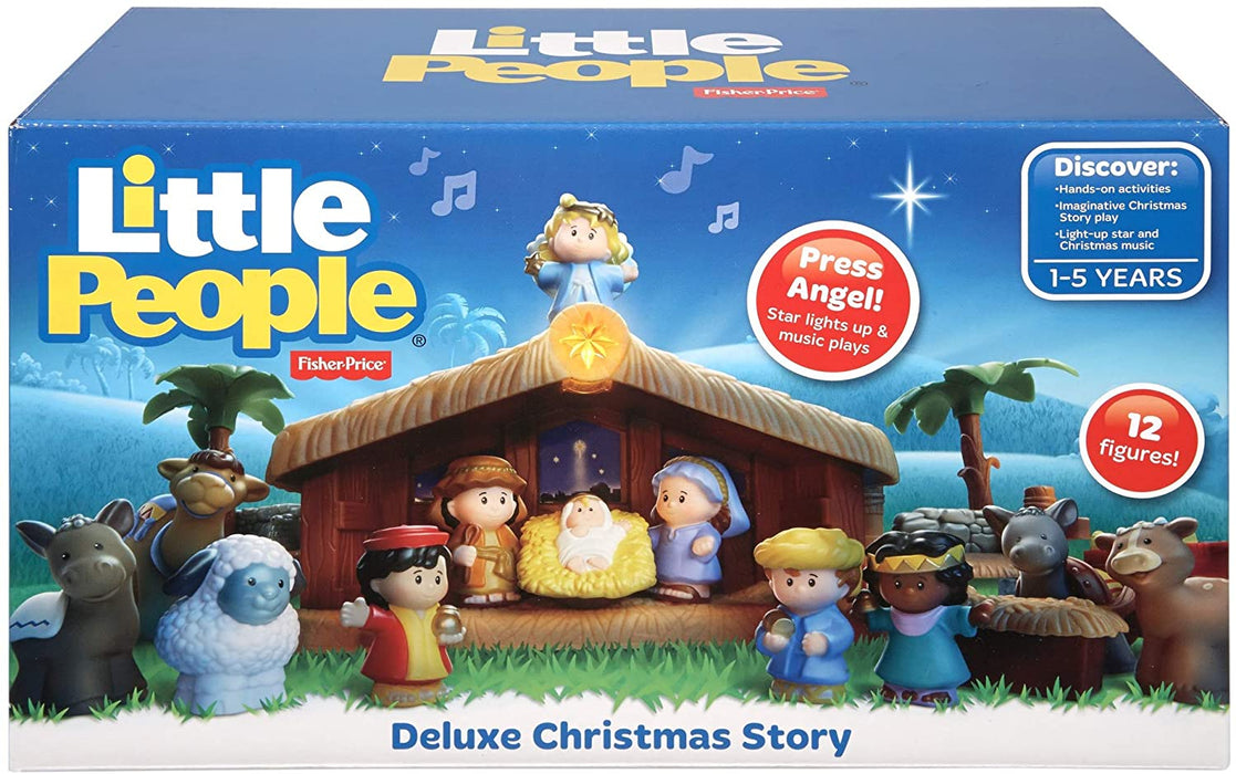 Fisher-Price Little People Christmas Story - História de Natal