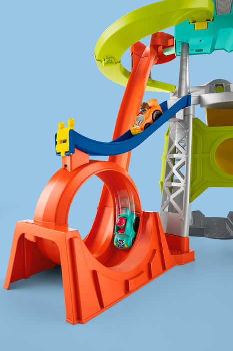Fisher-Price Little People Wheelies Launch & Loop Playset