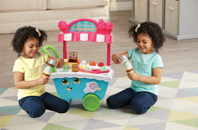 Leap Frog Scoop & Learn Ice Cream Cart - Carrinho de sorvete