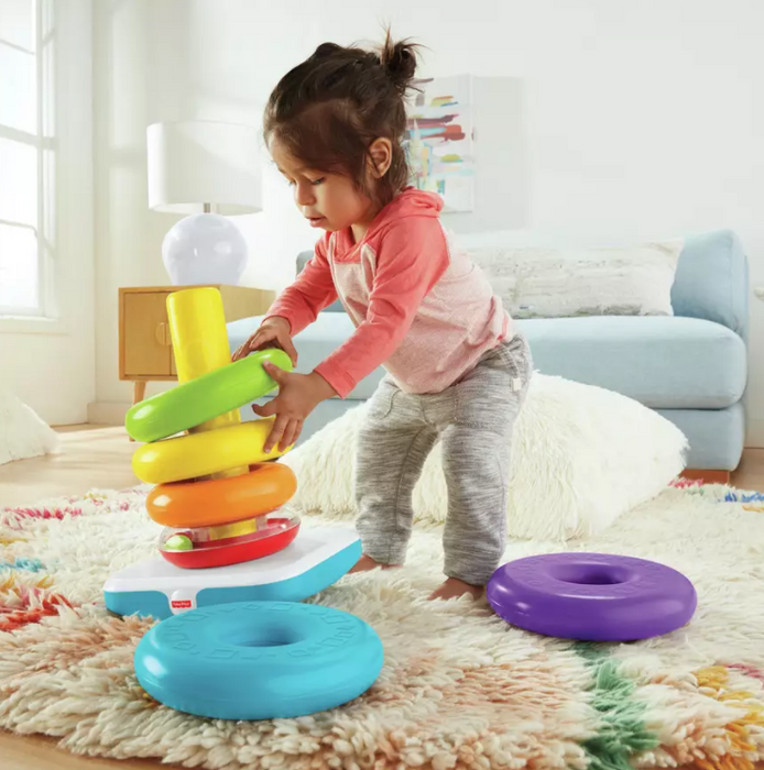 Fisher-Price Rock A Stack Argolas Gigantes