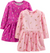 Simple Joys by Carter's Girl's Vestidos Manga Longa, 2 peças