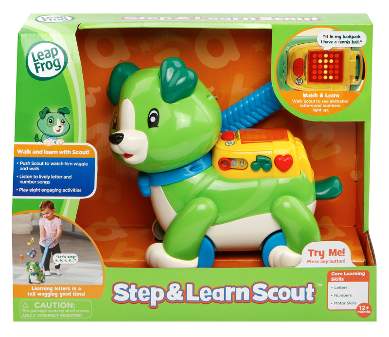 Leap Frog Step & Learn Scout