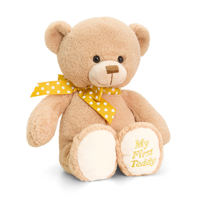 Keel Toys Supersoft My First Teddy 20cm - Marrom ou Creme