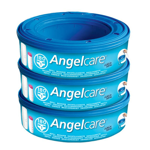 Angelcare Refil Cassettes 3 Pk para lixeira Anne Claire Baby Store 3 Refis