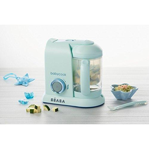 Beaba Babycook® MACARON Collection Aquamarine Blue Anne Claire Baby Store