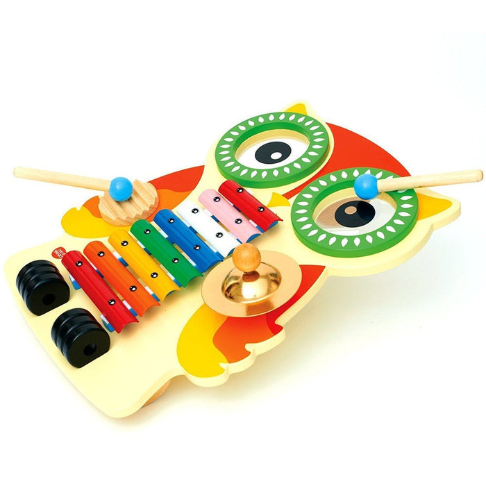 Bee Smart — Wooden Musical Instruments for babies - Music set (de madeira) Anne Claire Baby Store