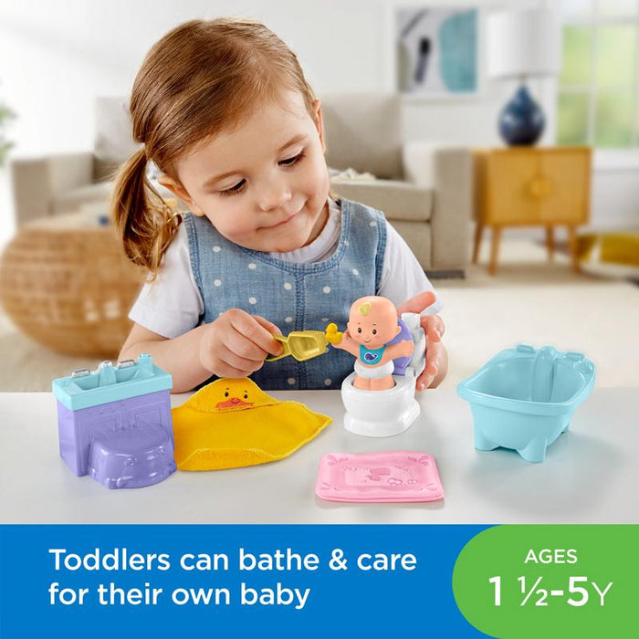Fisher-Price Little People Babies Deluxe Playsets Asst Anne Claire Baby Store