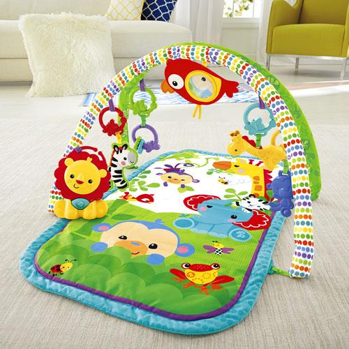 Fisher-Price - Tapete de Atividades 3-in-1 Busy Baby Rainforest Anne Claire Baby Store