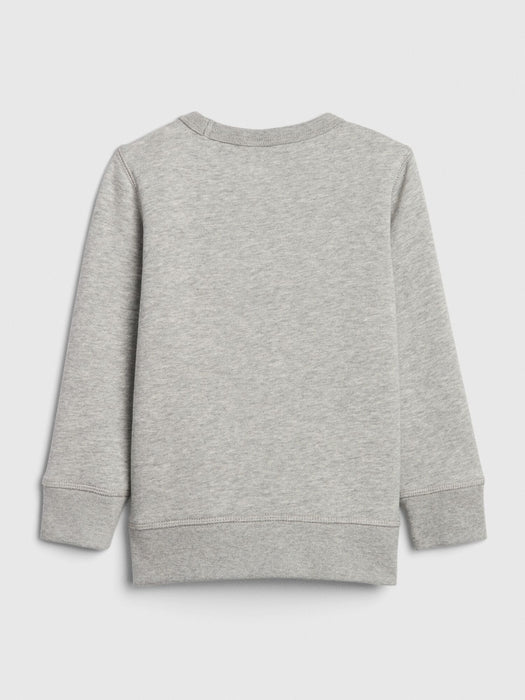 GAP Boy - Blusa moletom Light Heather Grey ROUPA GAP