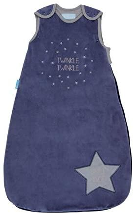 GroBag Bolsa de Dormir - 0 a 6 meses Anne Claire Baby Store Twinkle Twinkle Veludo