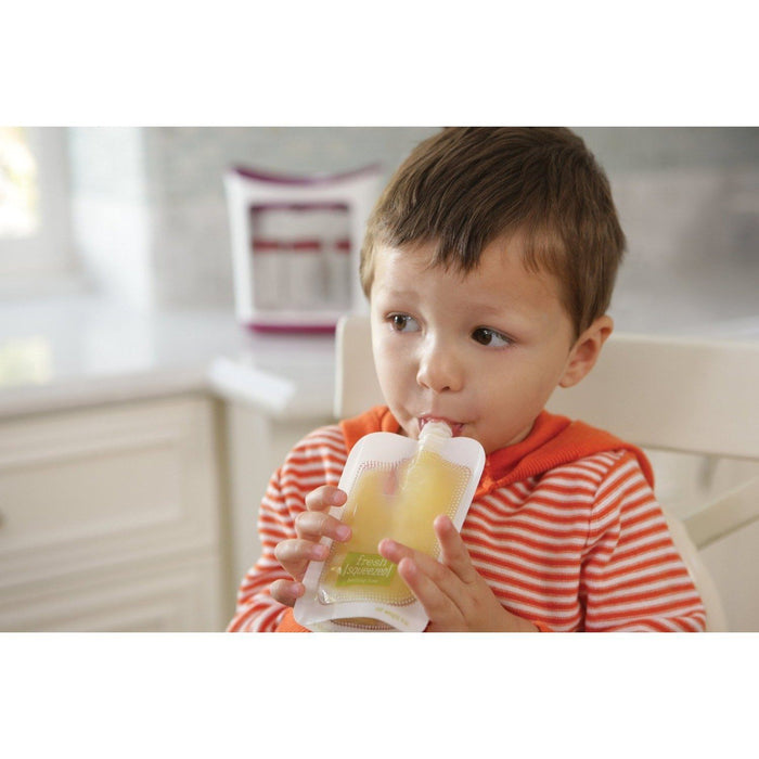 Infantino Squeeze Station Malotes Refil - 50 unidades Anne Claire Baby Store