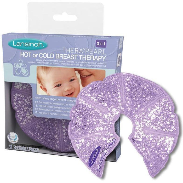 Lansinoh TheraPearl - 3 em 1 - Quente ou Frio Terapia para Mama Anne Claire Baby Store