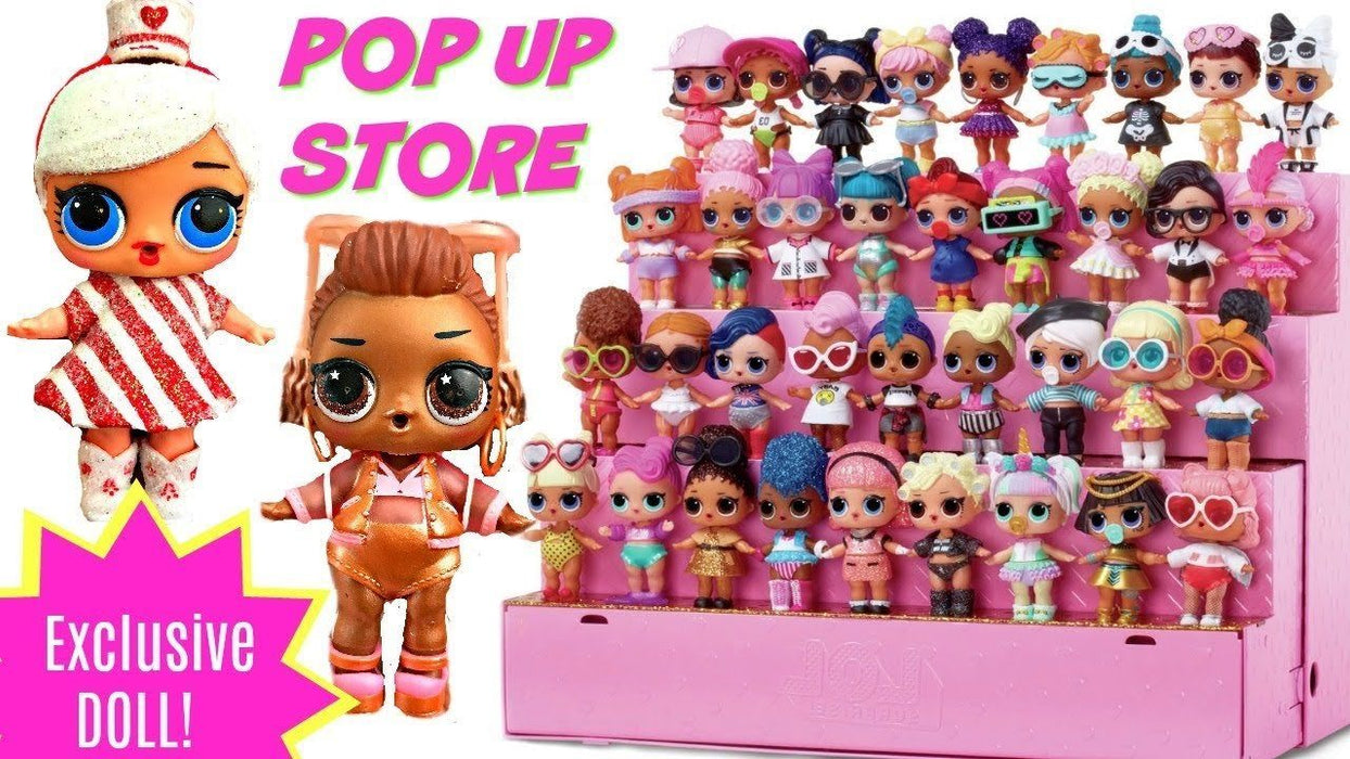L.O.L. Surprise! Pop up Store (display para 36 bonecas) Brinquedo Anne Claire Baby Store