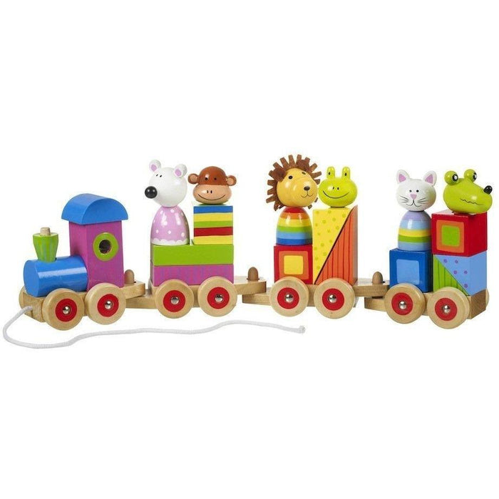 Orange Tree Toys Animal Puzzle Train (de madeira) Anne Claire Baby Store