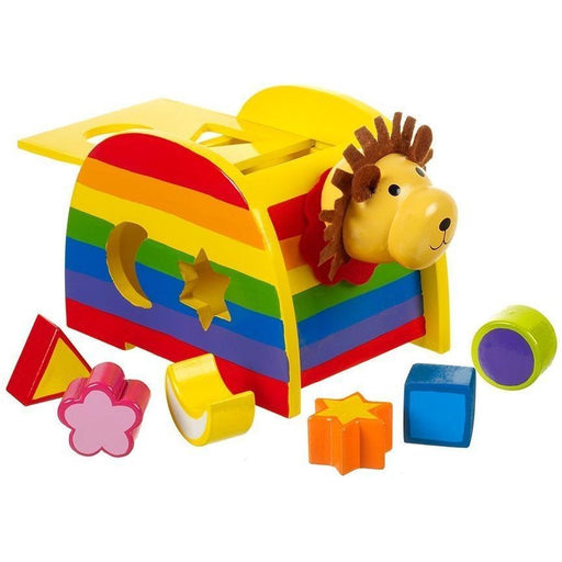 Orange Tree Toys - Lion - Wooden Shape Sorter (de madeira) Anne Claire Baby Store