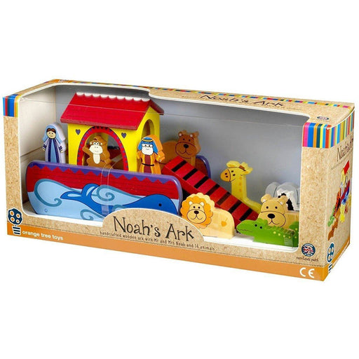 Orange Tree Toys Small Noah's Ark (de madeira) Anne Claire Baby Store