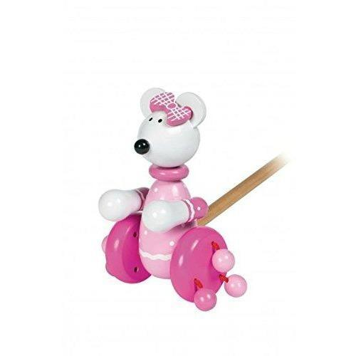 Orange Tree Toys- Wooden Push Along (de madeira) Anne Claire Baby Store