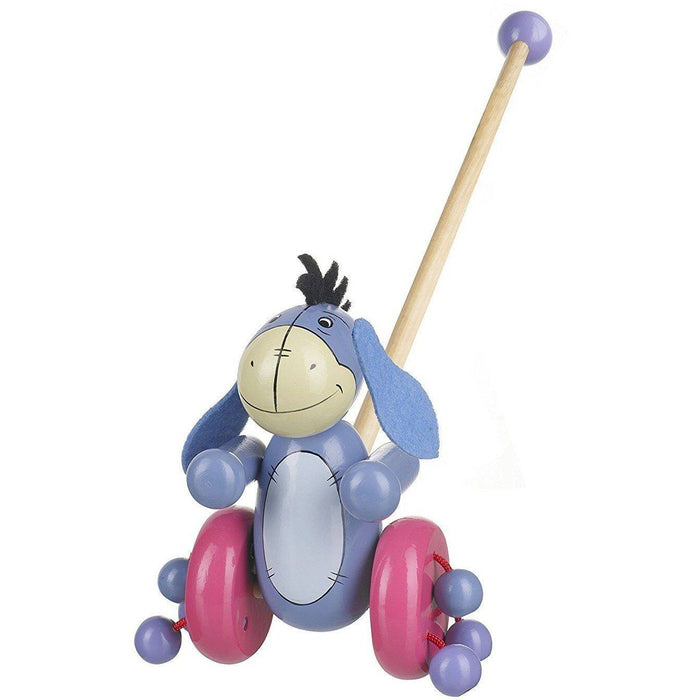 Orange Tree Toys- Wooden Push Along (de madeira) Anne Claire Baby Store Eeyore