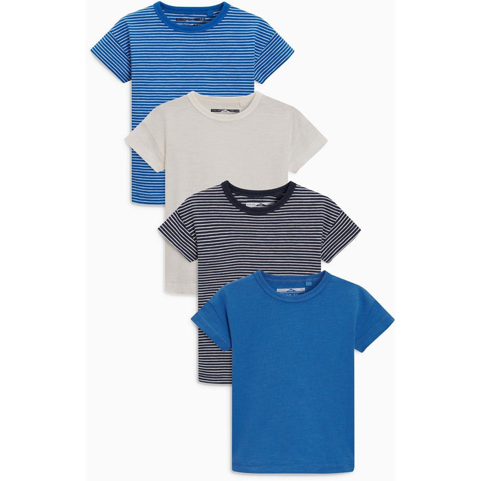 Reds & Blues - T-shirts pack com 4 Anne Claire Baby Store