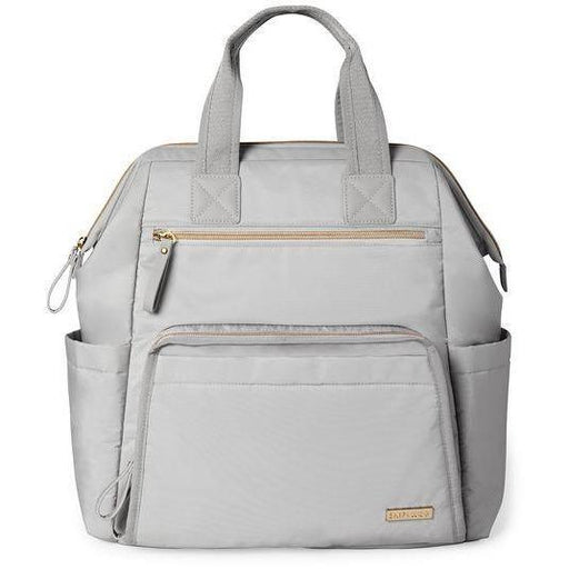 Skip Hop Mainframe Wide Open Diaper Backpack Anne Claire Baby Store Cement