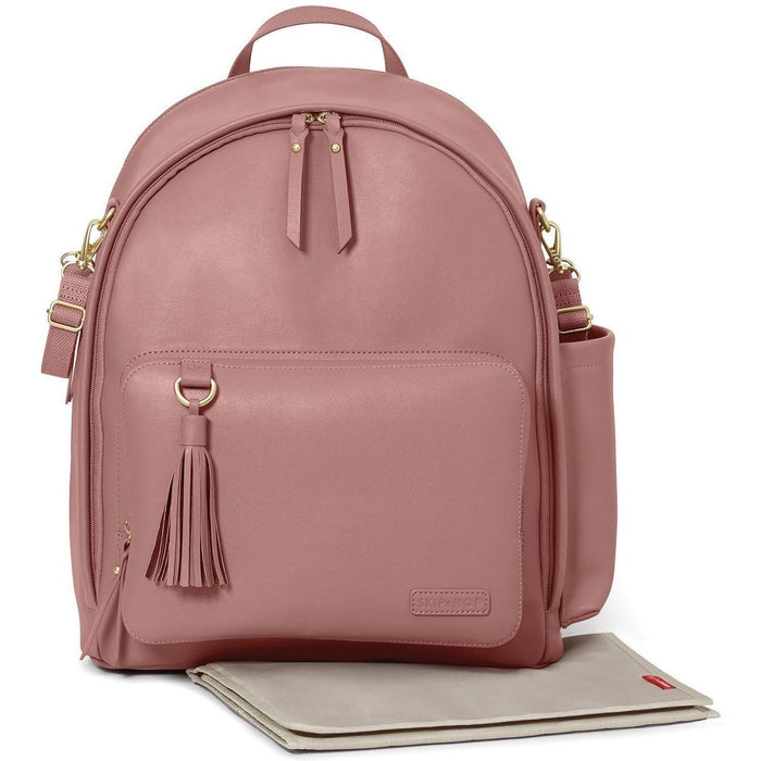 Skip Hop Mochila GREENWICH Simply Chic Anne Claire Baby Store Dusty Rose