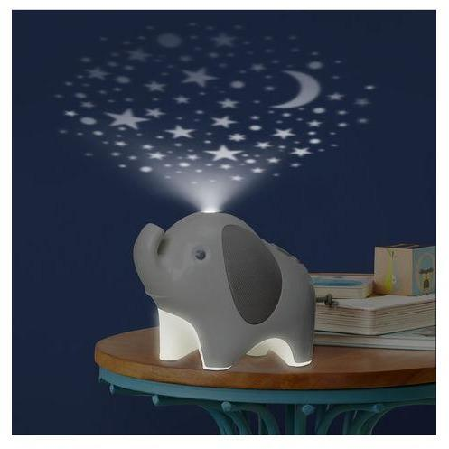 Skip Hop Moonlight & Melodies Nightlight Soother Elefante Anne Claire Baby Store