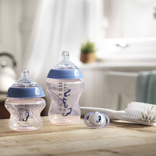 Tommee Tippee Closer to Nature - Conjunto de mamadeiras 8 Itens Rosa Anne Claire Baby Store