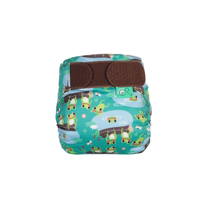 TotsBots Easyfit Star Fraldas de Pano Anne Claire Baby Store Speckled Frogs
