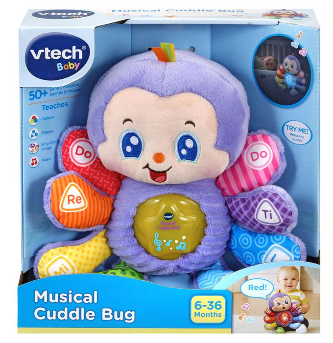 Vtech Musical Cuddle Bug Anne Claire Baby Store