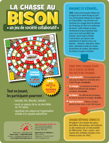 La chasse au bison — A Board Game