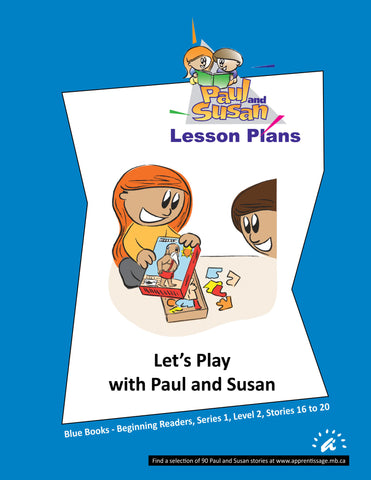 Paul and Susan - Blue Books 16 to 20 Lesson plans