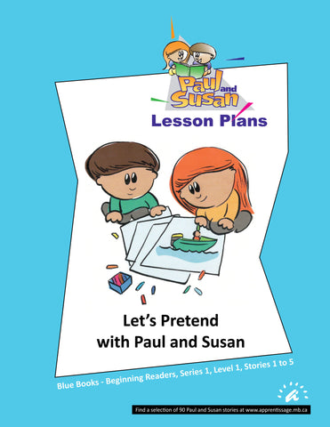 Paul and Susan - Blue Books 1-5 Lesson plans